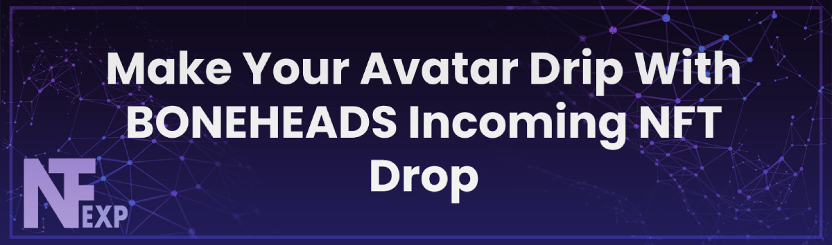 Make Your Avatar Drip With BONEHEADS Incoming NFT Drop