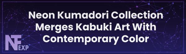 Neon Kumadori Collection Merges Kabuki Art With Contemporary Color